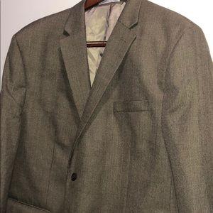 Chaps Brown Blazer (50R)
